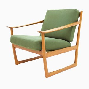 Teak FD 130 Lounge Chair by Peter Hvidt & Orla Molgaard Nielsen for France & Søn, 1961