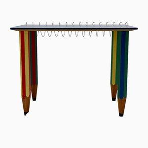 Tavolo multicolore di Pierre Sala, 1983