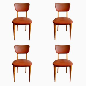 Chaises de Salon, 1960s, Set de 4