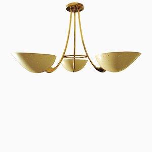 Lámpara colgante de BAG Turgi, años 50