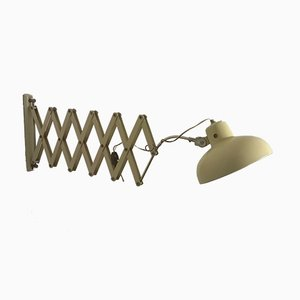 Italienische Scheren Wandlampe, 1940er