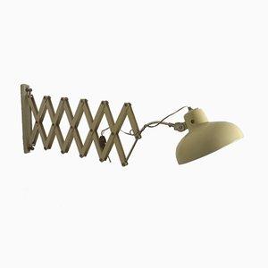 Lámpara de pared acordeón italiana, años 40