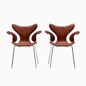 Seagull Stühle von Arne Jacobsen, 1960er, 2er Set