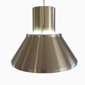 Lampe à Suspension en Laiton par Johannes Hammerborg pour Fog & Mørup, 1970s