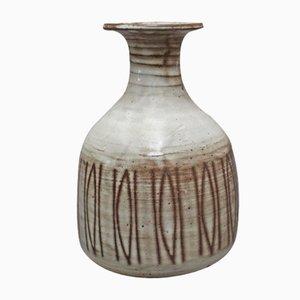 Vaso in ceramica di Jacques Pouchain, anni '50
