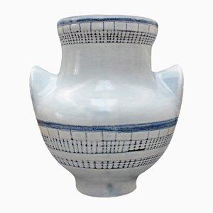 Große Vase von Roger Capron, 1950er
