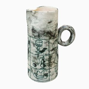 Mid-Century Ceramic Pitcher by Jacques Blin, 1950s