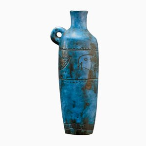 Blue Vase by Jacques Blin, 1950s