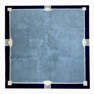 Quadratischer Tibetischer Vintage Khaden Teppich, 1970er