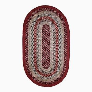 Amerikanischer Ovaler Vintage Teppich, 1930er