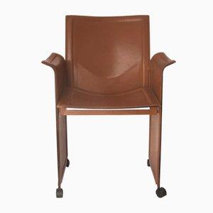Chaise à Roulettes par Tito Agnoli pour Matteo Grassi, 1970s