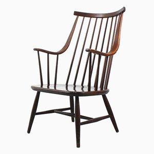 Wooden Easy Chair by Lena Larsson for Pastoe, 1960s