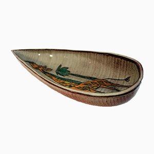 Mid-Century Tasse aus Keramik von Accolay, 1960er