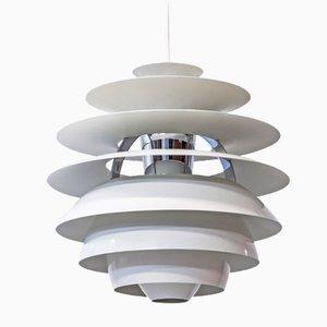 Lampada da soffitto PH Snowball di Poul Henningsen per Louis Poulsen, anni '80