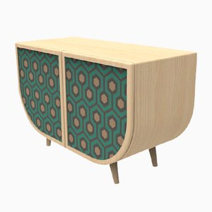 Green Reverie Sideboard by Zpstudio for Dialetto Design