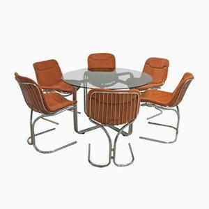 Tisch & Stühle von Gastone Rinaldi für Rima, 1970er