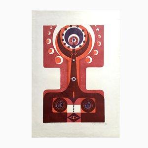 Impression Vintage par Manfred Degenhardt, 1972