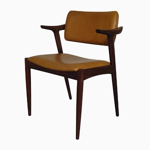 Stuhl aus Palisander & Leder von GM, 1960er