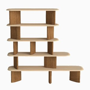 Spindle Bookcase by Zpstudio for Dialetto Design