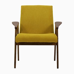 Mid-Century Yellow Armchair, 1960s