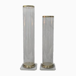 Methacrylate Columns, 1980s, Set of 2