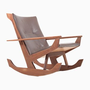 Rocking Chair in Teck par Georg Jensen pour Kubus, 1960s