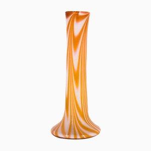 Jarrón Single-Flower grande de vidrio, años 70