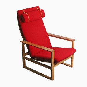BM 2254 Easy Chair by Børge Mogensen for Fredericia, 1956
