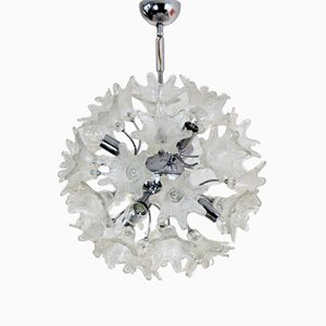 Vintage Murano Glass Chandelier by Paolo Venini for VeArt
