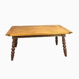 Tavolo in quercia, anni '60