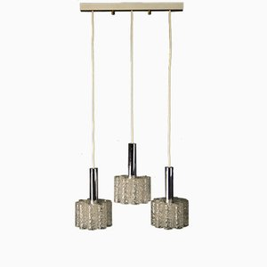 Vintage 3-Piece Ceiling Light from Doria Leuchten