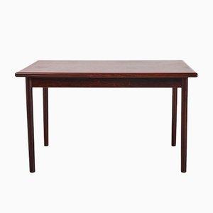 Tavolo allungabile in palissandro, anni '60