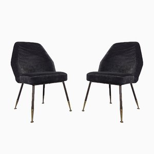 Campanula Lounge Chairs by Carlo Pagani for Arflex, 1952, Set of 2