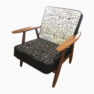 Mid-Century GE240 Cigar Sessel von Hans J Wegner für Getama