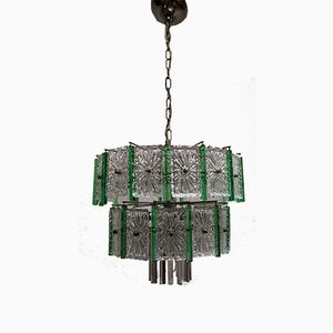 Murano Glass Chandelier from Venini, 1960s