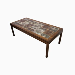 Rosewood Coffee Table by Tue Poulsen, 1960s