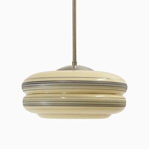Lámpara colgante noruega de Høvik Verk, años 50