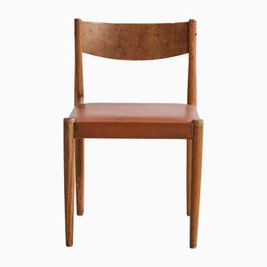 Chaise d'Appoint en Chêne, 196às