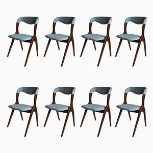 Mid-Century Dining Chairs from Vamo Sonderborg, Set of 8