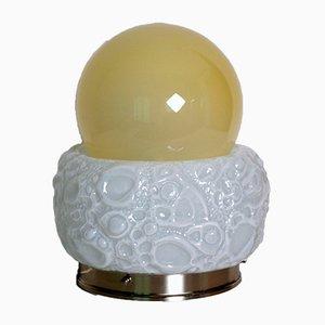 Lampada da tavolo modello Osso in vetro di Murano di Mazzega, anni '70