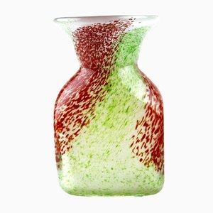 Vaso in vetro di Murano, anni '70