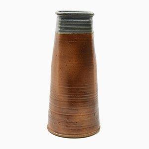 Vintage Pyrite Steingut Vase von Pierre Digan