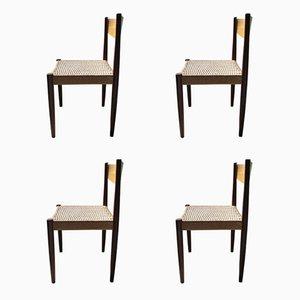 Mid-Century Teak Esszimmerstühle von Sigh & Søn Møbelfabrik, 4er Set