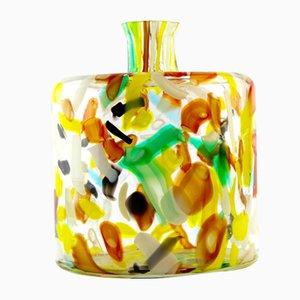 Murano Glas Flasche, 1970er