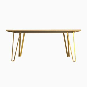 Victoria´s Table with Yellow Legs by Studio Deusdara