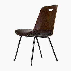 Chaise DU22 Vintage par Gastone Rinaldi pour Rima