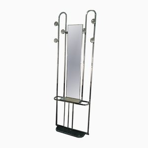 Vintage Art Deco Chromed Rack
