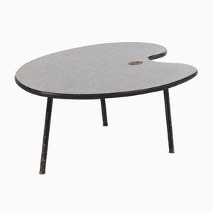 Tavolino da caffè a forma di tavolozza, anni '50