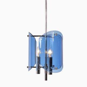 Lámpara colgante italiana moderna de Veca, años 60