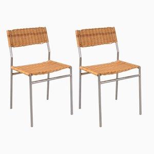 Sedie da pranzo minimaliste di Martin Visser per 't Spectrum, anni '60, set di 2
